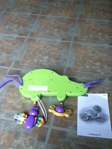 Fisher Price crib mirror musical crocodile in St Thomas London Ontario image 3
