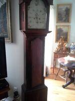 pre 1812 grandfather clock