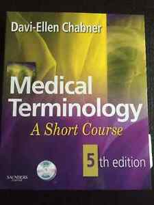 Medical terminology textbook with discs