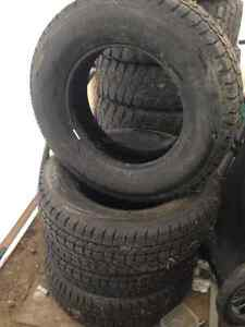 4 245/70/17 studded winter tires for sale