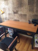Desk and chair FREE