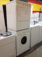 """27"""" STACKABLE WASHER&DRYER ON SALE ENDS SAT AUG 29 COME NOW!"""