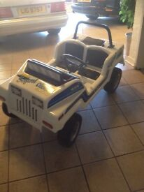 Childs petrol jeep