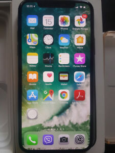 Iphone X Space Gray 64GB.  Unlocked. Like New Condition.
