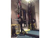 Half rack / squat rack