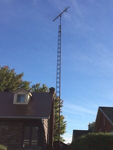Antenna Tower TV HD, Tour Antenne TV HD 64'  Internet tower