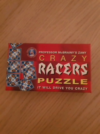 Crazy Racers Puzzle Game
