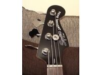 Squier by Fender SS Jaguar Bass guitar