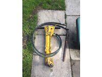 Stanley hydraulic breaker gun powerpack hose