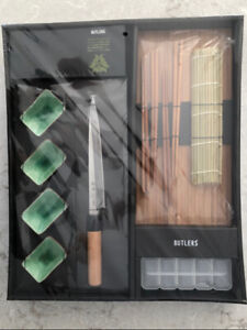 BUTLERS DELUXE 12 PIECE SUSHI SET - BRAND NEW!