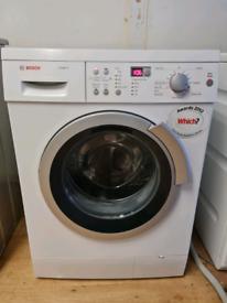Bosch washing machine 9kg capacity white