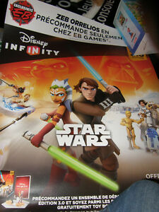 Pancarte Commercial Disney Infinity - 4$
