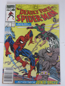 Marvel Comics Deadly Foes of Spider-Man#'s 1,2,3&4 comic book