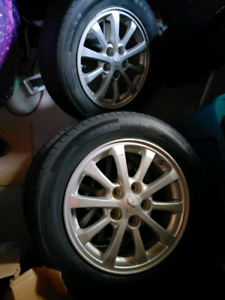 "16"" Mitsubishi 5x114.3 with tpms rims NEED GONE TODAY!"