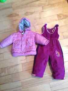 Roots down snow suit 9 to 12 m