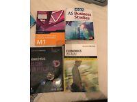 As & A2 textbooks