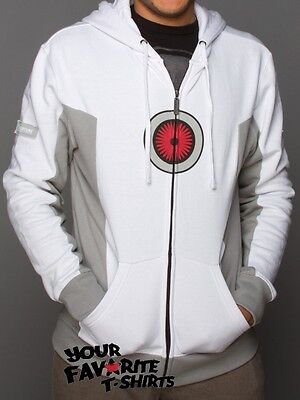 Portal 2 Turret Costume Gamer Premium Zip Up - Portal Costume