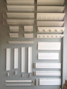 ***BASEBOARD, CASEMENT, TRIM, CROWN MOLDING, CORNER ROUND, SHOE