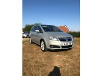 Vauxhall zafira design cdti 150..7 seater 111,000 miles full service history 2 owners