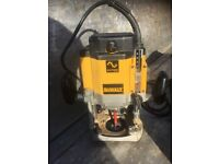 Dewalt plunge routers router dw625 all complete works 110% with no faults