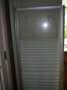Shower stall, complete,used