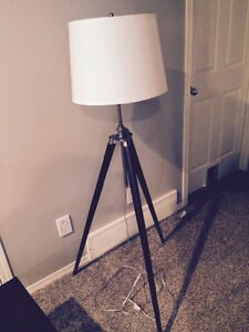 Floor and table lamp set