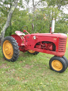 Used tractor and farm machinery for sale