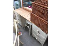 Pine desk - home comforts