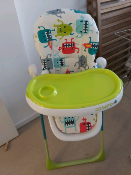 Used, Cosatto noodle high chair for sale  Greenwich, London