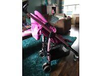 Maxi-cosi stroller with foot muff