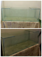 53 GALLON FISH TANK/AQUARIUM AND GRAVEL