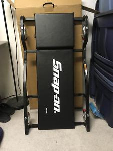 SNAP ON Heavy Duty Creeper- Adjustable Headrest-Black