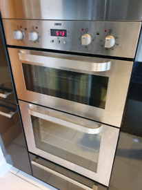 Zanussi built in electric double oven