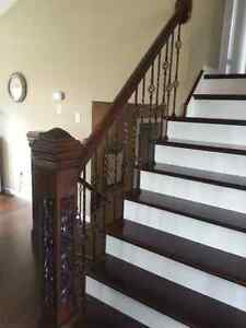Kitchen remodeling Home Renovations Oak Stairs and railing Kitchener / Waterloo Kitchener Area image 4