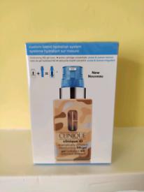 Clinique iD custom blend moisturiser make-up pores & uneven texture