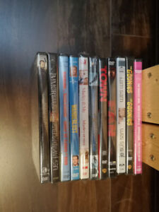 NEW in packaging dvds