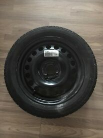 Spare wheel and nearly new tyre - 185/55/ R 15