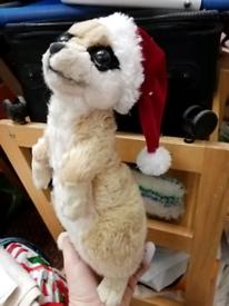 Meerkat soft toy teddy bear