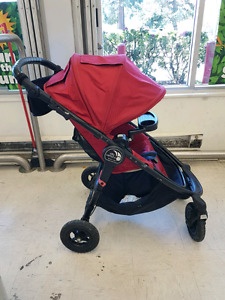 Baby Jogger City Versa GT stroller and accessories