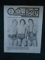Stampede Wrestling program Bret & Bruce Hart, Davey Boy Smith