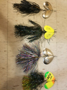 4/$60     MUSKY SEASON'S ALMOST HERE!    GET YOUR BUCKTAILS NOW!