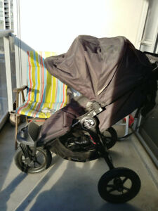 Baby jogger city elite stroller almost new + Rain Canopy