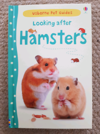 Looking after hamsters book, perfect for children