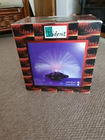 Fibre optic UFO light