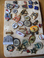 35 Vintage Sports Pins - Early 90's