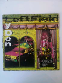 "Leftfield, Lydon – Open Up (Remix) 12"""