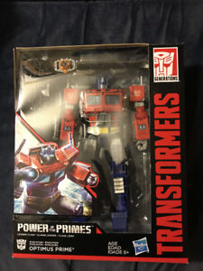 Transformers Power of Primes Optimus Prime G1 style