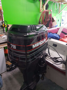 75 HP Mercury Outboard