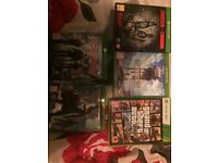 Xbox one games and 360 games