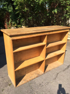 Double sided book case
